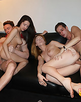 Babes suck plus have a passion sufficiently